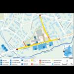 cartografia di servizio per evento Olimpiadi invernali di Torino 2006