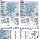 Cartografia. carte a rilievo per rubrica meteo
