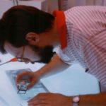 Giancarlo nella prima sede Graffito
