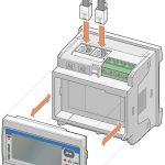 Illustrazione tecnica per manuale di installazione