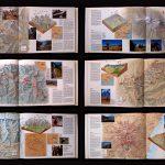 Cartografia. Carte di descrizione itinerari di Trekking per volumi di Massimo Cappon