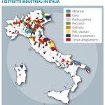 Cartografia. Cartina tematica scolastica per volume di geografia economica