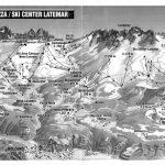 Cartografia. Plastigrafia vettoriale zona montuosa