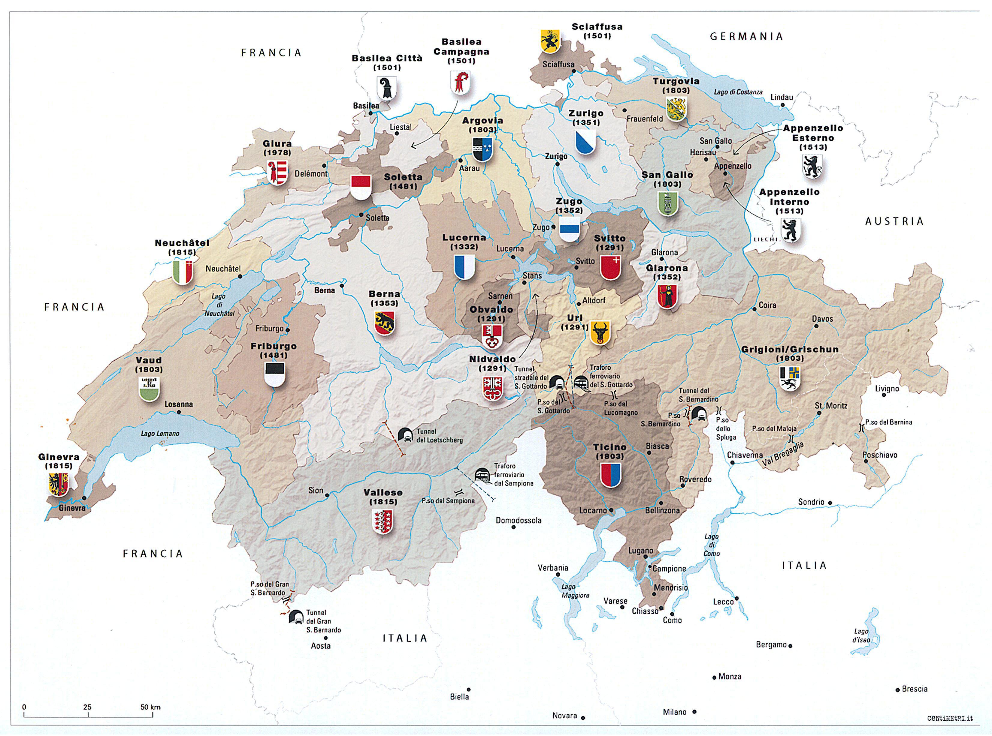 Valle D Aosta Cartina Tematica.Cartografia Giancarlo Paganini