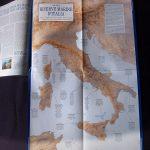 Cartografia. Cartina geografica per magazine Atlante De Agostini