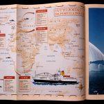 Cartografia. Cartina geografica per magazine Gulliver De Agostini