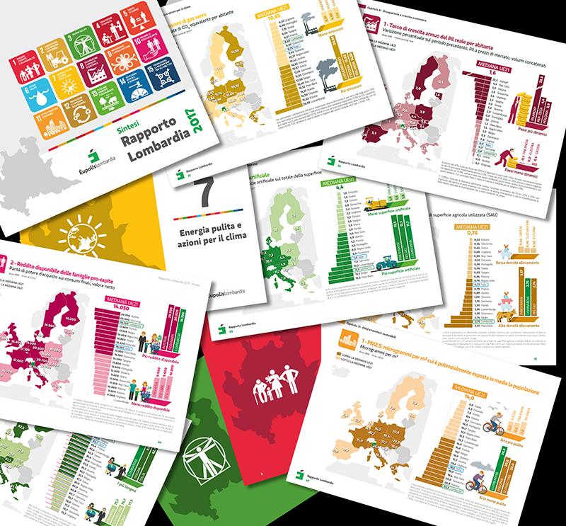Cartografia e infografica per la Pubblica Amministrazione - Rapporto Lombardia 2017