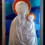 Icona madonna con Bambino n°0092-115x172