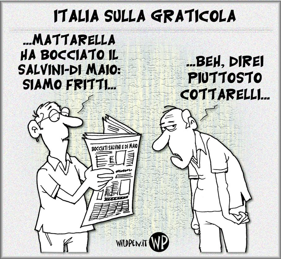 Italia ai ferri: dalla padella alla brace democrazia