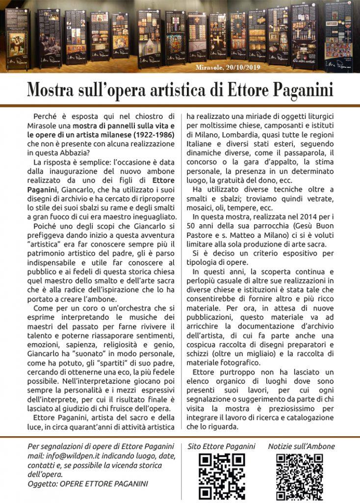 Intro mostra Ettore Paganini