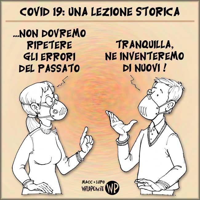 Lezione storica Covid19