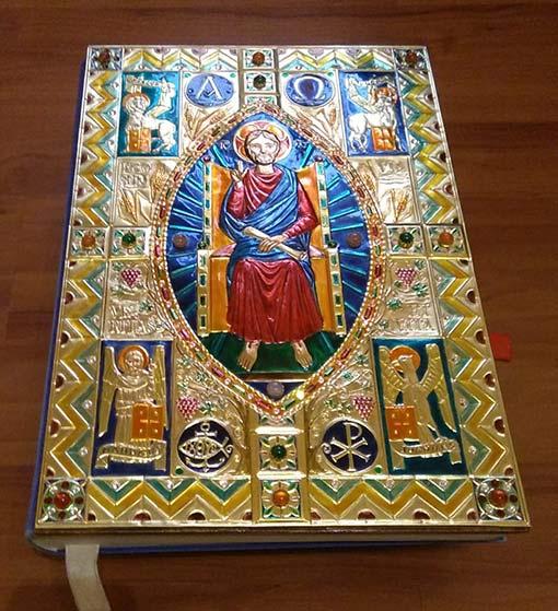 Copertina Evangeliario Ambrosiano