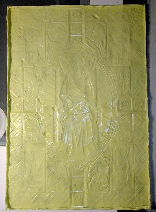 Copia 001. Impronta di pasta siliconica