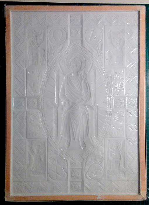 Copia 001. Impronta di silicone