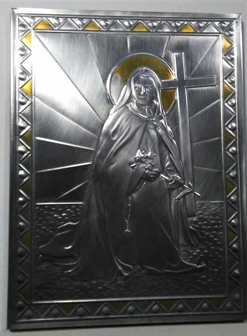 Santa Teresina del Bambin Gesù. Il disastro sull'aureola