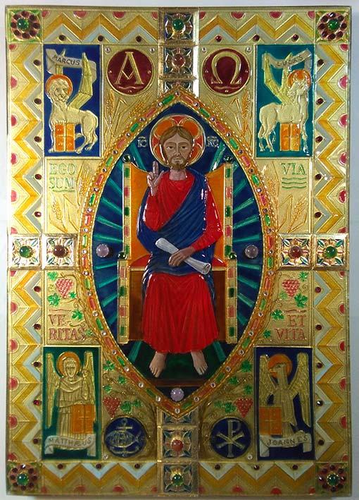 Copia n°2 della Copertina di Evangeliario terminata.